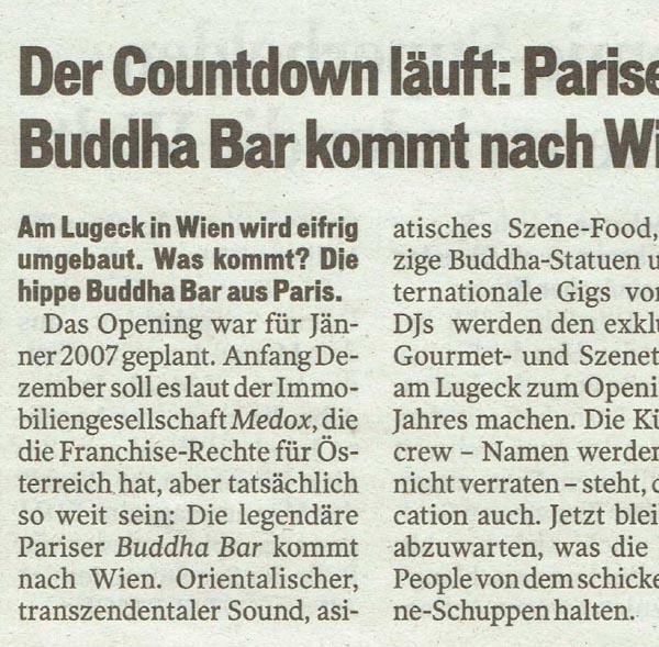PRESSE - LITTLE BUDDHA - Österreich - vom 12. August 2007 - Seite 7