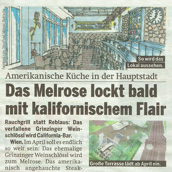 PRESSE - MELROSE - Österreich - 27. Februar 2015 - Seite 20