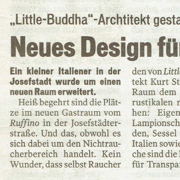 PRESSE - RUFFINO - Österreich - vom 5. November 2007 - Seite 7