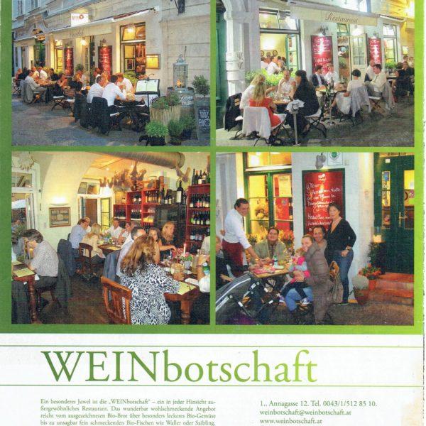PRESSE - WEINBOTSCHAFT - Enjoy Vienna - 01-2013 - Seite 16